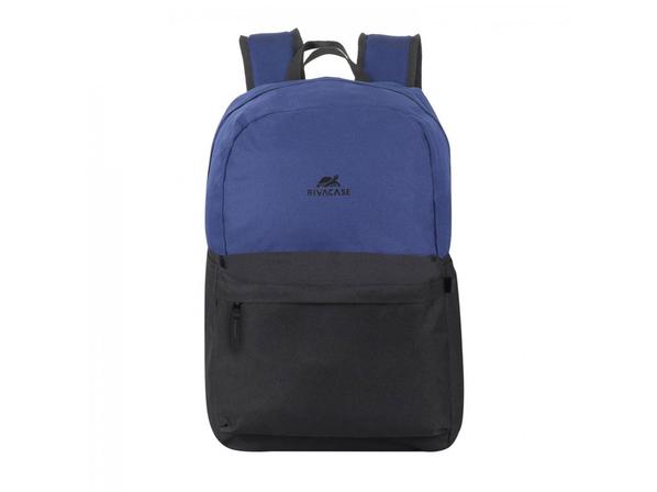 Рюкзак Rivacase для ноутбука до 15.6'', темно-синий/ черный