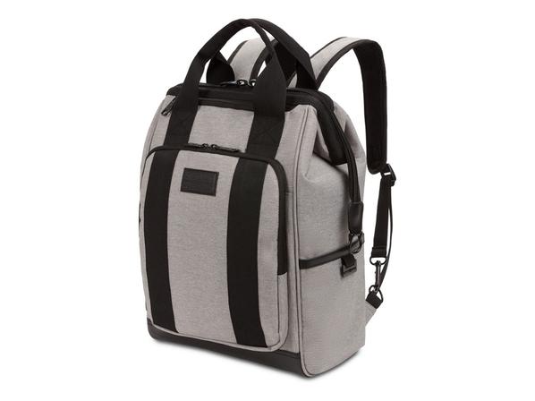 """Рюкзак Swissgear Doctor Bags с отделением для ноутбука 16,5"""", светло-серый - фото № 1"""