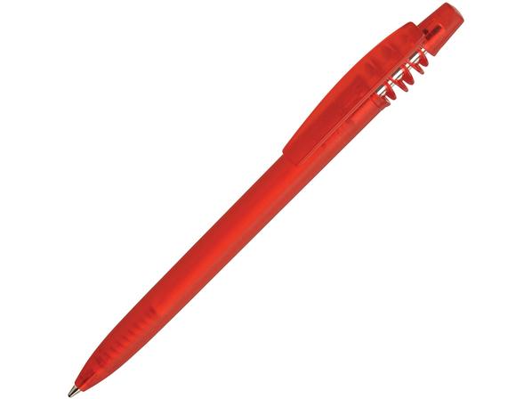 Ручка пластиковая шариковая Igo Color Color, красная - фото № 1