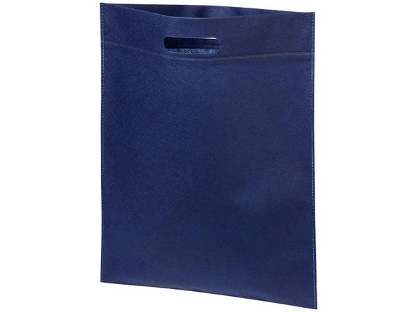 Сумка для конференций, 80 г/м2, темно-синяя - фото № 1