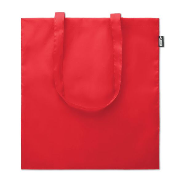 Сумка шоппер 100гр, красный - фото № 1