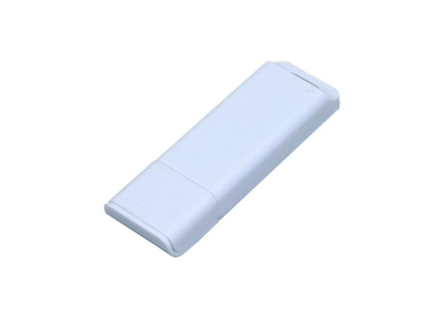 USB-флешка на 64 Гб с оригинальным двухцветным корпусом, белый - фото № 1