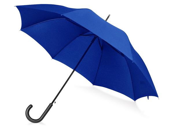 Зонт трость антишторм полуавтомат Wind, синий - фото № 1