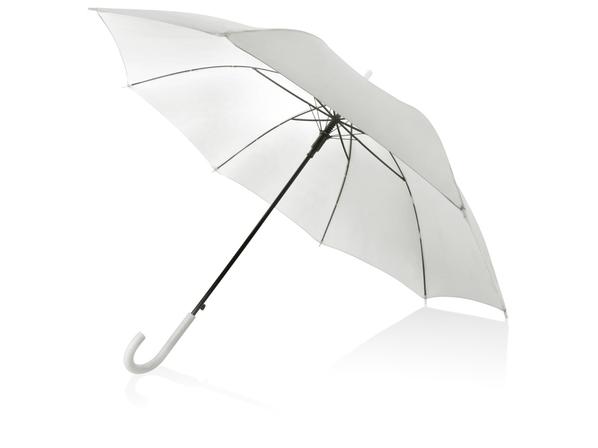 Зонт-трость Яркость, белый - фото № 1