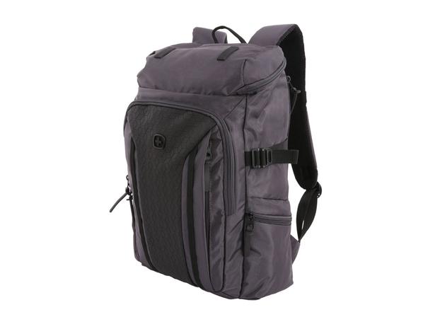 """Рюкзак с отделением для ноутбука 15"""" Wenger, черный/ темно-серый - фото № 1"""