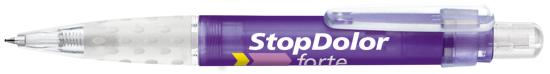 Ручка шариковая пластиковая Senator Big Pen Icy, фиолетовая - фото № 1