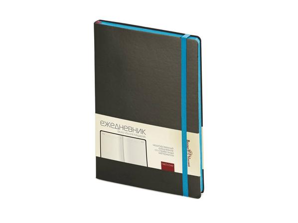 Ежедневник недатированный Bruno Visconti Megapolis Soft А5, серый/ голубой - фото № 1