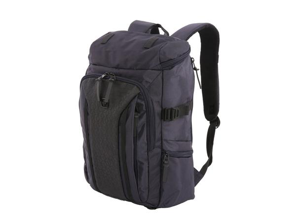 """Рюкзак с отделением для ноутбука 15"""" Wenger, черный/ темно-синий - фото № 1"""