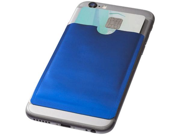 Бумажник для карт с RFID, синий