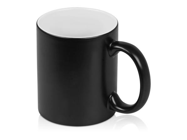 Кружка Subcolor BLK, черный/ белый - фото № 1