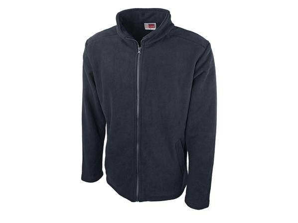 Куртка флисовая мужская Us Basic Seattle, темно-синяя - фото № 1