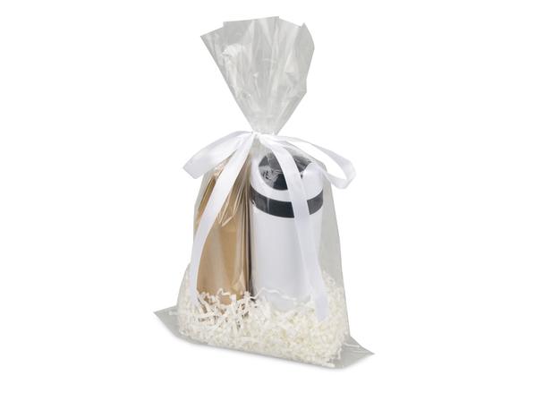 Набор подарочныйLevita: чай и термокружка, белый - фото № 1