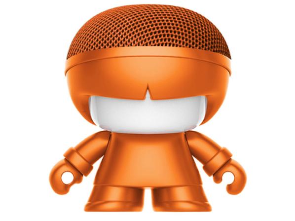 Колонка портативная Xoopar Mini XboyMetallic, оранжевая - фото № 1