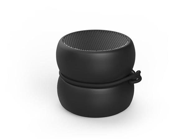 Колонка портативная Xoopar TWS YoYo Mono, черная - фото № 1