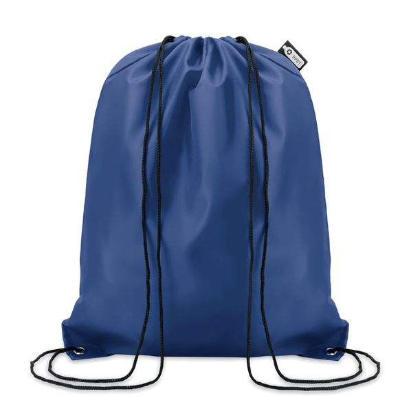 Рюкзак на шнурках, экологичное производство, синий - фото № 1