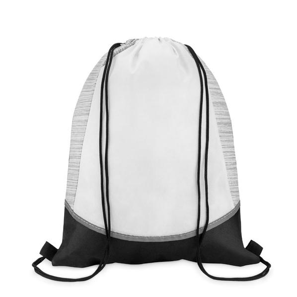 Рюкзак нетканый, белый - фото № 1
