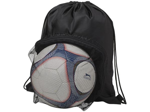 Спортивный рюкзак на шнурке, черный - фото № 1