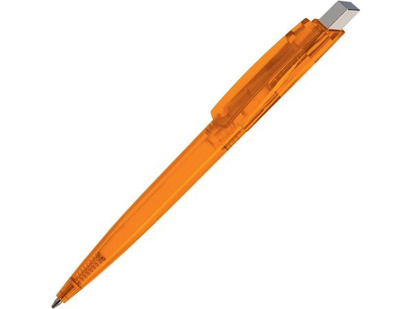Ручка пластиковая шариковая Gito Color, оранжевая - фото № 1