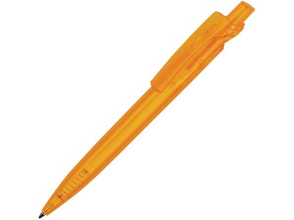 Ручка пластиковая шариковая Maxx Color, оранжевая - фото № 1