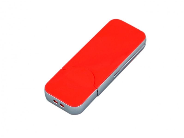 Флешка USB 2.0 на 64 Гб в стиле IPhone, красная - фото № 1
