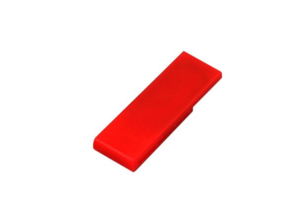 Флешка USB 2.0 на 8 Гб Промо в виде скрепки, красная - фото № 1