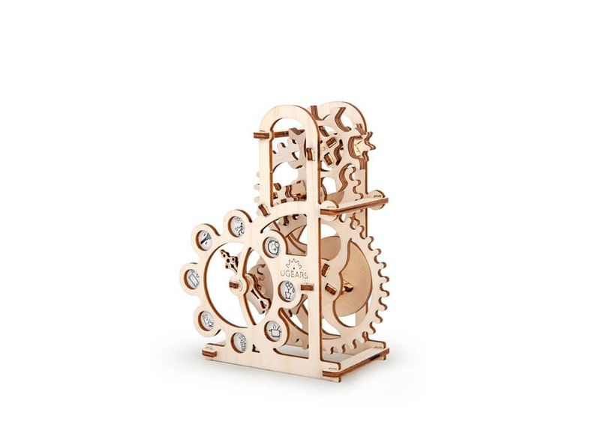 3D-пазл UGEARS Силомер, древесный - фото № 1