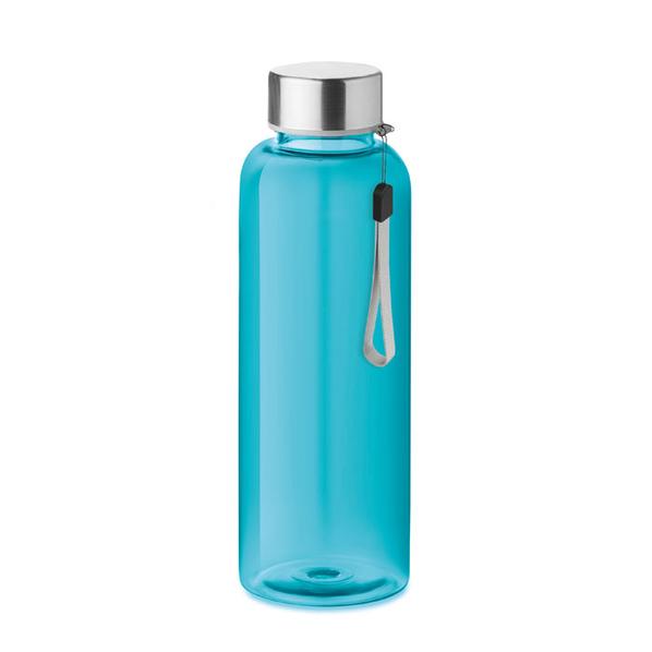 Бутылка полупрозрачная 500 мл, голубая - фото № 1