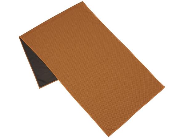 Полотенце для фитнеса Alpha, оранжевый - фото № 1