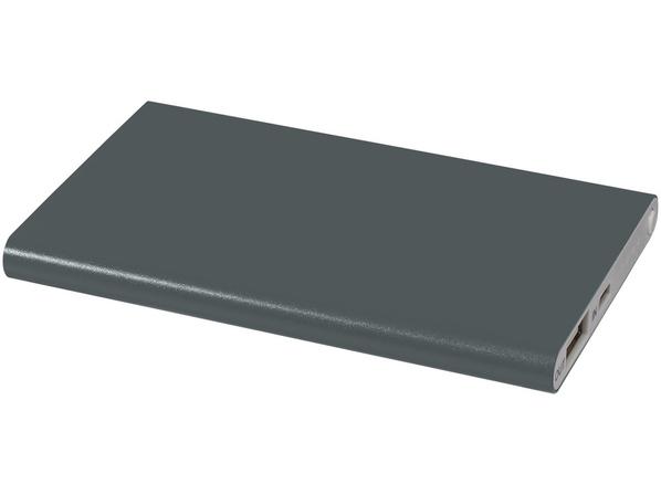 Портативное зарядное устройство Pep, 4000 mAh, серое - фото № 1