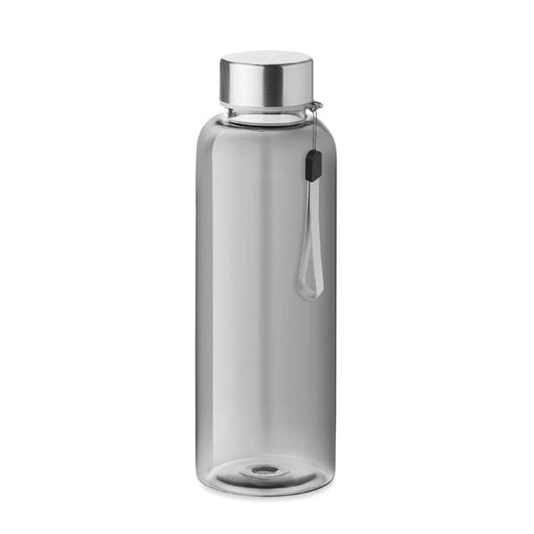 Бутылка полупрозрачная 500 мл, серебристая - фото № 1