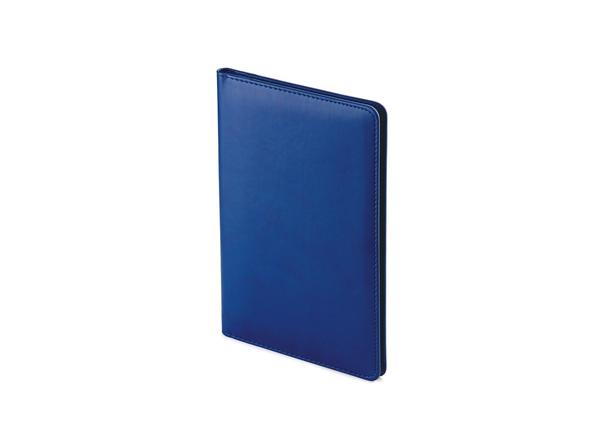 Визитница А5 Velvet, синий - фото № 1