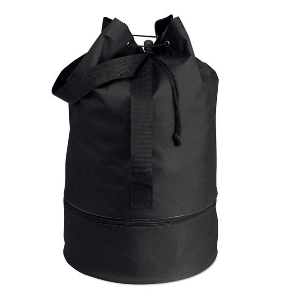 Вещевой мешок, черный - фото № 1