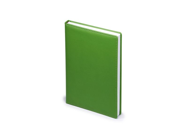 Ежедневник недатированный Velvet А5, ярко-зеленый - фото № 1