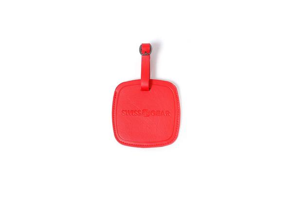 Бирка для багажа Swissgear, красная - фото № 1