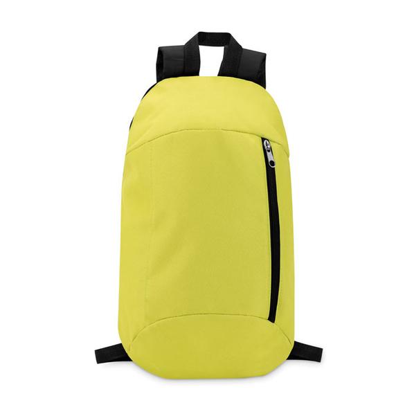 Рюкзак, мягкая спинка, салатовый/черный - фото № 1