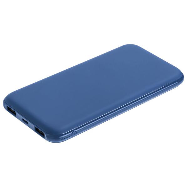 Внешний аккумулятор с подсветкой логотипа Indivo markBright City, 10000 mAh, синий - фото № 1