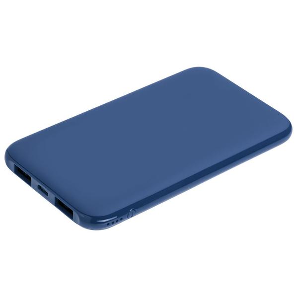Внешний аккумулятор с подсветкой markBright Town, 5000 mAh, синий - фото № 1