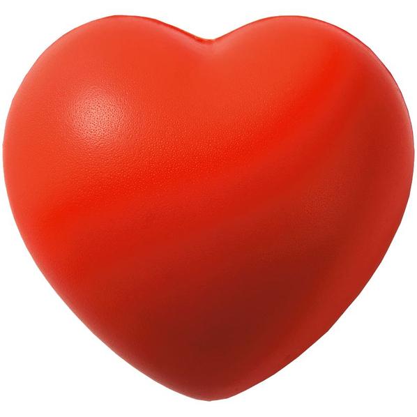 Антистресс Сердце, красный - фото № 1