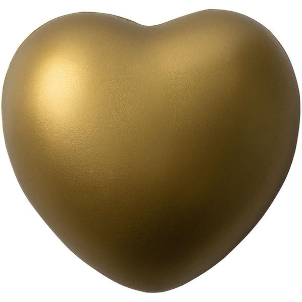 Антистресс «Сердце», золотистый - фото № 1