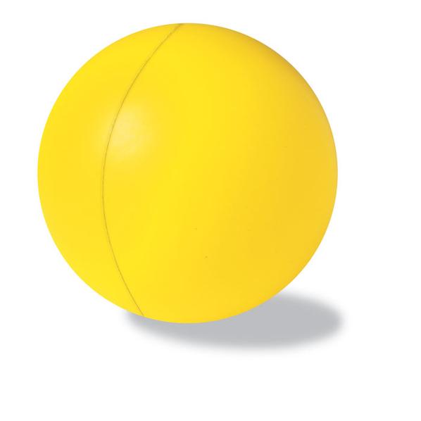 Антистресс Мяч 6см, желтый - фото № 1