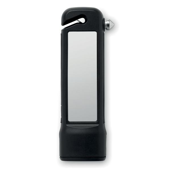 Аварийный мультитул: молоток с фонариком, стропарезом, аккумулятором на солнечной батарее - фото № 1