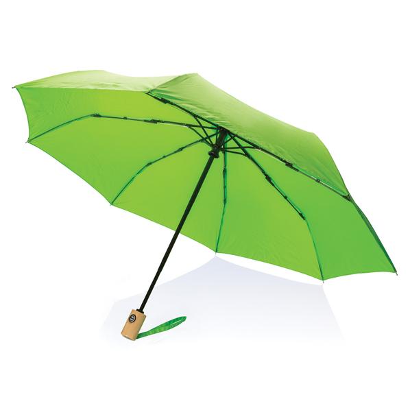 """Зонт складной автомат XD Collection 21"""", зеленое яблоко - фото № 1"""