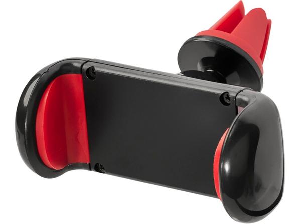 Держатель автомобильный Grip для мобильного телефона, чёрный / красный - фото № 1