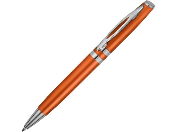 Ручка шариковая пластиковая Невада, оранжевый металлик - фото № 1