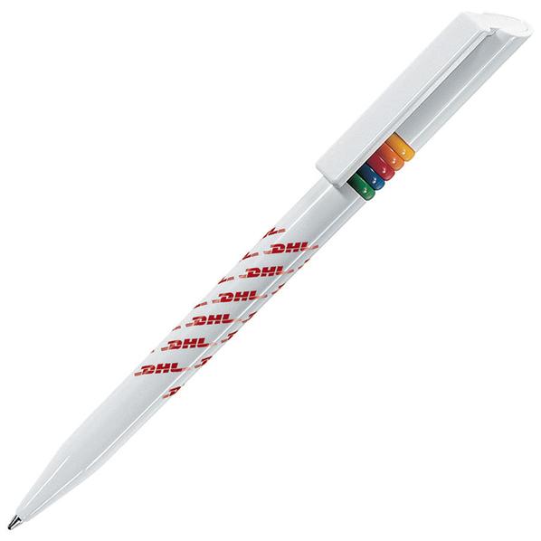 Ручка шариковая пластиковая Lecce Pen Griffe Arcobaleno, разноцветная - фото № 1