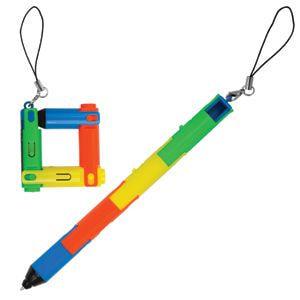 Ручка трансформер пластиковая шариковая, разноцветная - фото № 1