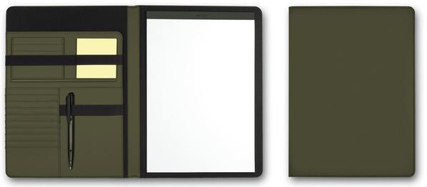 Папка для документов А4 SKUBA, темно-зеленый - фото № 1
