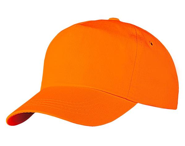 Бейсболка Unit Promo, оранжевая - фото № 1