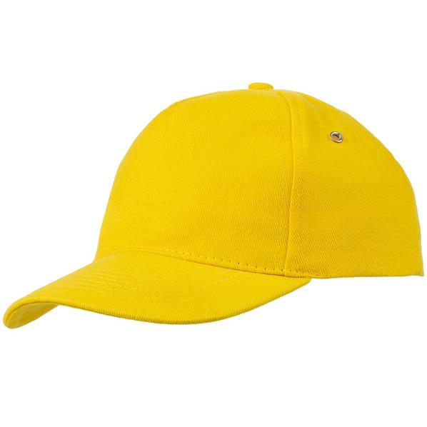 Бейсболка Unit Standard, желтая - фото № 1
