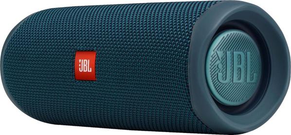 Беспроводная колонка JBL Flip 5, синяя - фото № 1